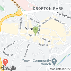 Map of Superdrug Stores plc in Yeovil, somerset