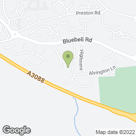 Map of Premier Inn in Brympton, Yeovil, somerset