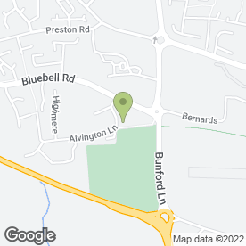 Map of Premier Inn in Yeovil, somerset