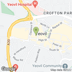 Map of Amicus Solicitors in Yeovil, somerset