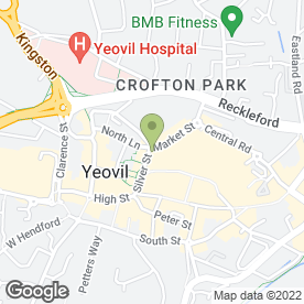 Map of Pall Tavern in Yeovil, somerset