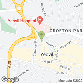 Map of Cecile The Beauty Rooms in Yeovil, somerset