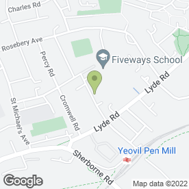 Map of M L Decorators in Yeovil, somerset