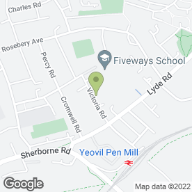 Map of ML Decorators in Yeovil, somerset