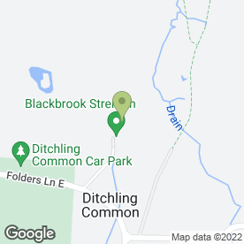 Map of Shredded Neat in Ditchling, Hassocks, west sussex