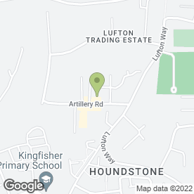 Map of YPH Waste Management Ltd in Lufton, Yeovil, somerset
