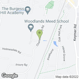 Map of Goodwood Flooring in Burgess Hill, west sussex
