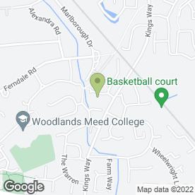 Map of Abbey House in Burgess Hill, west sussex