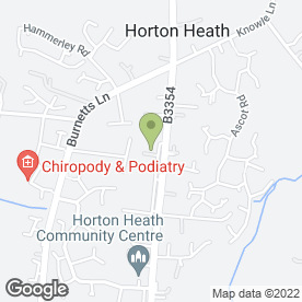 Map of Sabre Pro Structural & Architectural in Horton Heath, Eastleigh, hampshire