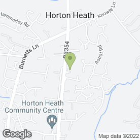 Map of Horton Heath Van Centre Ltd in Horton Heath, Eastleigh, hampshire