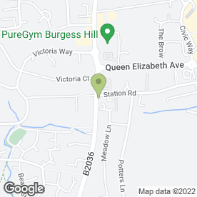 Map of Shapla Tandoori Restaurant in Burgess Hill, west sussex