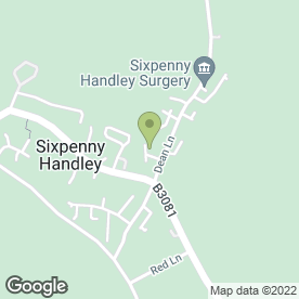 Map of Dave Swift Plant Hire in Sixpenny Handley, Salisbury, wiltshire