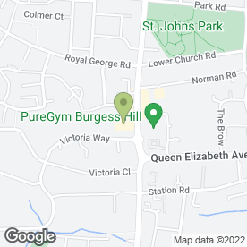 Map of On Call Care Ltd in Burgess Hill, west sussex