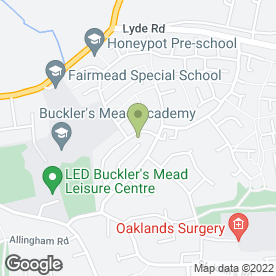 Map of GMS Retail Windows Ltd in Yeovil, somerset