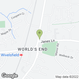 Map of Hydrocare Home Leisure Ltd in Burgess Hill, west sussex