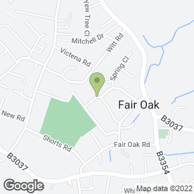 Map of I R Rogers Plumbing And Heating in Fair Oak, Eastleigh, hampshire