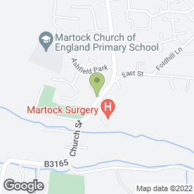 Map of Drs Buckle, Quayle, Bridge, Eaton, More, Hasan & Huntley in Martock, somerset