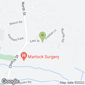 Map of The Nags Head in Martock, somerset
