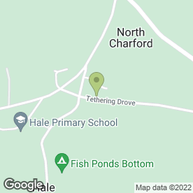 Map of E & N Delivery in Hale, Fordingbridge, hampshire