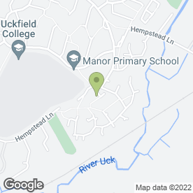 Map of Uckfield Blinds in Uckfield, east sussex