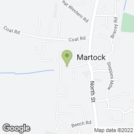 Map of Paul Holbrook in Martock, somerset
