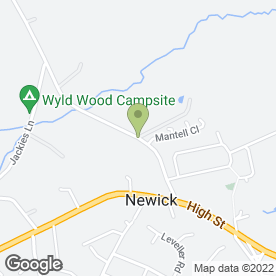 Map of Newick Physiotherapy in Newick, Lewes, east sussex