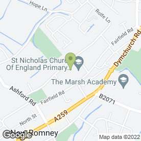 Map of St. Nicholas Early Years & Childcare in New Romney, kent
