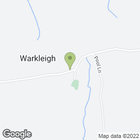 Map of C Thorne in Warkleigh, Umberleigh, devon