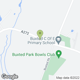 Map of Buxted Medical Centre in Uckfield, east sussex