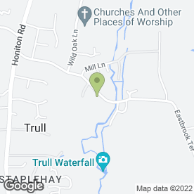 Map of Winchester Arms Trull in Trull, Taunton, somerset