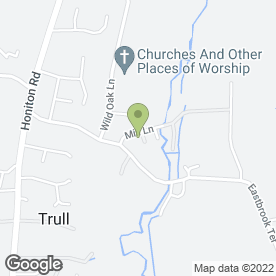 Map of Taunton & Somerset Weddings in Trull, Taunton, somerset