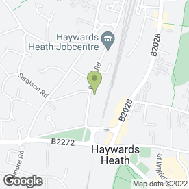 Map of Acacia Carpentry Contractors in Haywards Heath, west sussex