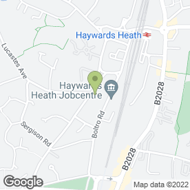 Map of Clark & Company in HAYWARDS HEATH, west sussex