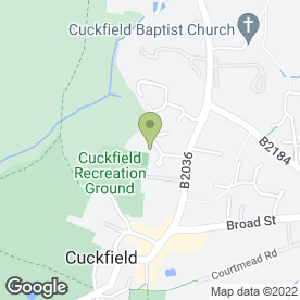 Map of Mid-Sussex Dyslexia Centre in Cuckfield, Haywards Heath, west sussex