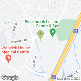 Map of Tae Kwon Do (TAGB) in Taunton, somerset