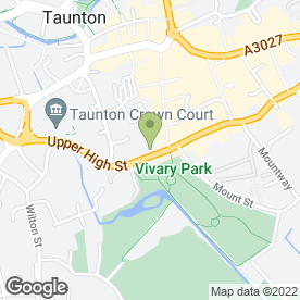 Map of Alexa's Beauty Essentials in Taunton, somerset