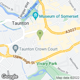 Map of The Sandwitch in Taunton, somerset