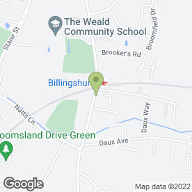 Map of Oriental Express in Billingshurst, west sussex