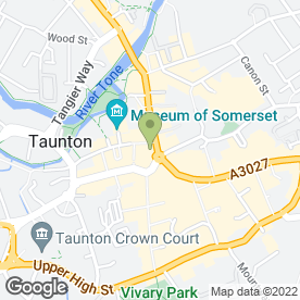 Map of Monsoon Accessorize Ltd in Taunton, somerset