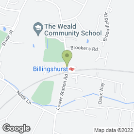 Map of AM Beauty Clinic in Billingshurst, west sussex