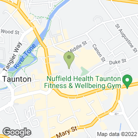 Map of BUTLER in Taunton, somerset