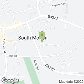 Map of Lizzie Stock Garden Design in South Molton, devon
