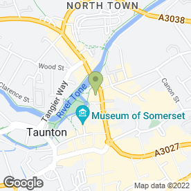 Map of Jacques Vert Retail Ltd in Taunton, somerset