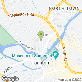 Map of Arrow Electrical in Taunton, somerset