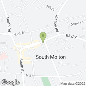 Map of Lloyds TSB Bank plc in South Molton, devon