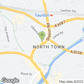 Map of 3D Security Ltd in Taunton, somerset