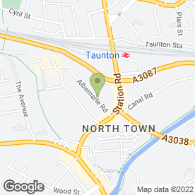 Map of Seigokan Karate England in Taunton, somerset