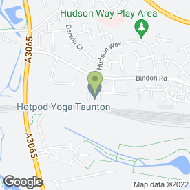 Map of TLS Security Systems Ltd in Livingstone Way, Taunton, somerset