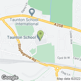 Map of Evolution Martial Arts Academy in Taunton, somerset