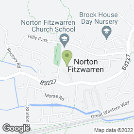 Map of The Phone Exchange Ltd in Norton Fitzwarren, Taunton, somerset